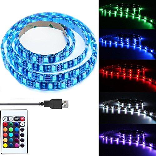 LEDNICEKER Waterproof USB LED Strip Backlight - Multi Colour