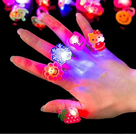 DDOQ Waterproof Colour Change LED Mood Lamp Night Light Glowing Ring  (Random Color)