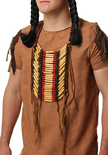 Wooden Beaded Native American Breastplate Standard