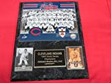 1948 Indians World Series Champions 2 Card Collector Plaque #2 07w/8x10 Team Photo
