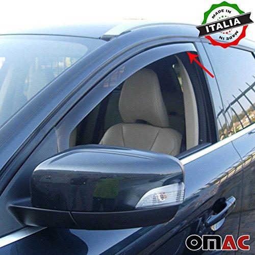 VOLVO XC60 Deflettori D' aria Deflettore pioggia 4 pezzi set anteriore & posteriore a partire dal 2009 Omac GmbH