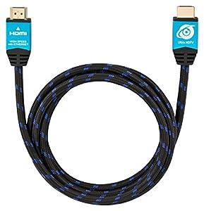 Ultra HDTV Premium HDMI-Kabel 1 Meter | HDMI 2.0a, 4K bei vollen 60Hz (keine...