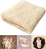 Image of Newborn Photography Props Newborn Baby Stretch Long Ripple Wrap Yarn Cloth Blanket by Bassion