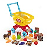 Think Gizmos Shopping Cart Set TG705 - Toddler Play Set for Boys & Girls Aged 3 4 5