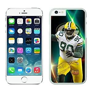 NFL Case Cover For Ipod Touch 5 Green Bay Packers B.J. Raji White Case Cover For Ipod Touch 5 Cell Phone Case ONXTWKHB1583