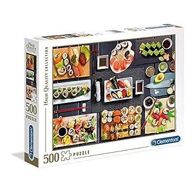 Clementoni Collection Puzzle Sushi 500 Pezzi Multicolore 35064