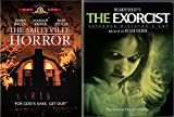 70's Classic Horror Movies: The Exorcist (extended director's cut) & The Amityville Horror Double Feature 2-Pack DVD Set