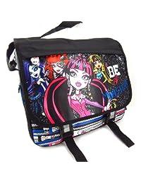 Shoulder bag 'Monster High' black multicolored.