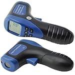 Ehdis Digital LCD Photo Tachometer Non-Contact RPM Meter Motor Speed Gauge Gun Style Surface Speed Tach Meter Speedometer