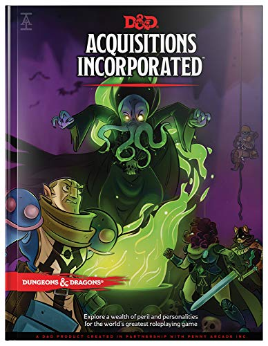 Product picture for Dungeons & Dragons Acquisitions Incorporated HC (D&D Campaign Accessory Hardcover Book) by Wizards RPG Team