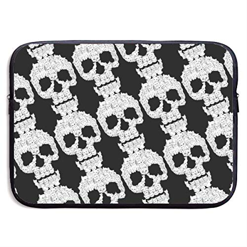 Skulls Cats Laptop Sleeve Case Bag Cover for Apple MacBook/Asus/Acer/Samsung/DELL/HP/Lenovo/Sony/RCA Computer 13 -