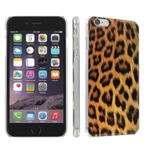Skinguardz Iphone 6 (4.7) (Purple Cheetah) Ultra Slim Light Weight Plastic Cover Case