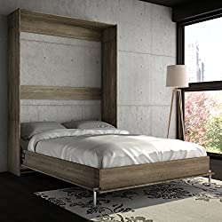 Cyme Tech Inc. Stellar Home Furniture Full Wall Bed Rustic Cinnamon