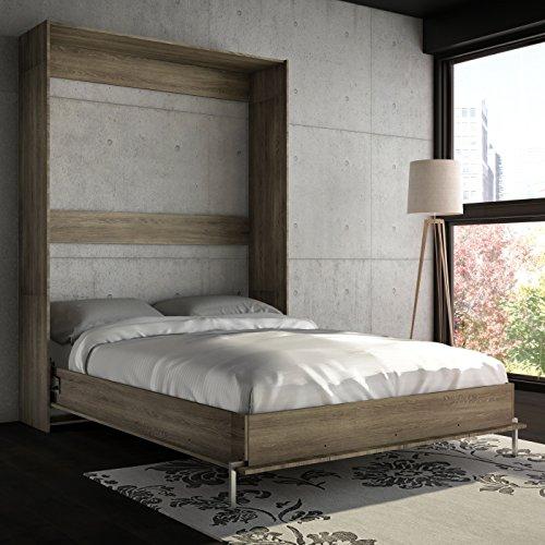 (Cyme Tech Inc. Stellar Home Furniture Full Wall Bed Rustic)
