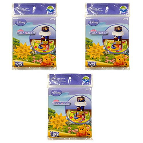 Pooh Carpet The Winnie (Neat Solutions Winnie the Pooh Disposable Floor Topper - 3 count)