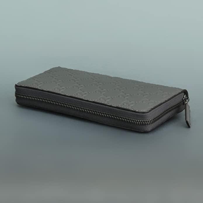60b93a2aac9c Amazon | (グッチ) Gucci 男女兼用 長財布 グレー ワンサイズ [並行輸入品] | 財布