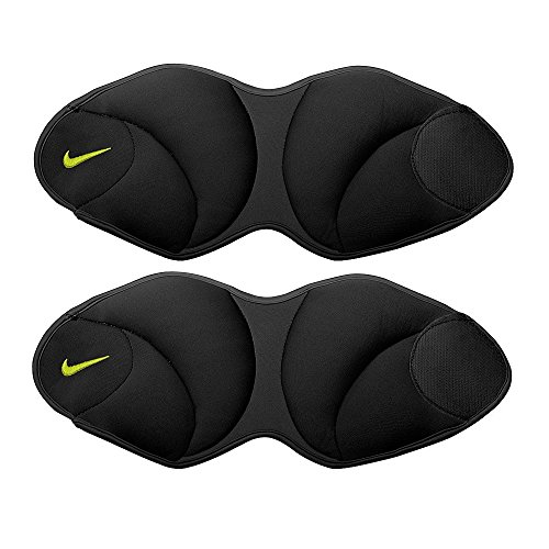 Nike Unisex Nike Ankle Weights 5 Pound Black/Volt One Size