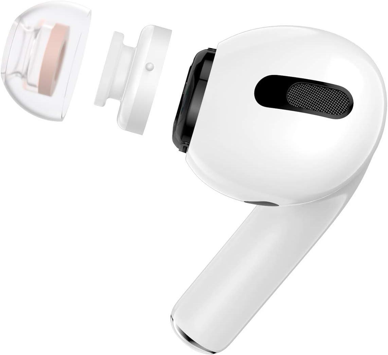 S//M//L 3 Paar Rauschunterdr/ückung Ersatz Memory Foam In-Ear Ear Tips Covers Ohrh/örertips f/ür AirPods Pro//AirPods 3 ICARER In-Ear Kopfh/örer Ohrpolster f/ür AirPods Pro Schwarz