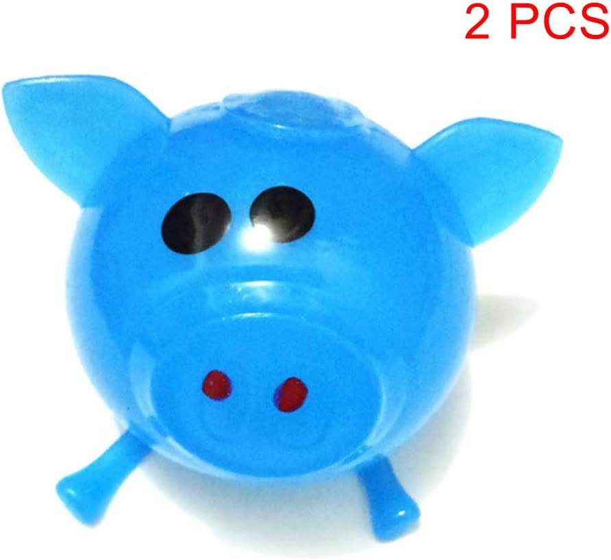 Stress Relief Toys Squeeze Toy Solid Color Pig Anti Stress Splat Water Ball Jello Decompression Toy for Work Pressure Release