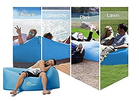 Jasonwell Inflatable Lounger Air Sofa Lounge Chair Bag Portable Waterproof Hammock Sleeping Sofa Couch Lazy Bed Pool Float for Outdoor Recreation Hiking Camping Beach Hangout Music Beer Pool Parties