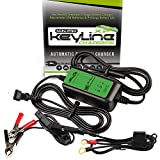 pro car battery charger - KeyLine Chargers KC-125-MPXP 12V 1.25 Amp Automatic Mini Pro-XP Car Battery Charger (5 Stage Maintainer, Conditioner, Desulfator and Tender)
