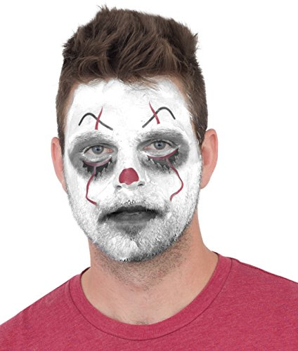 Scary Clown Make Up (Clown Costume Makeup Cosmetic Kit It)