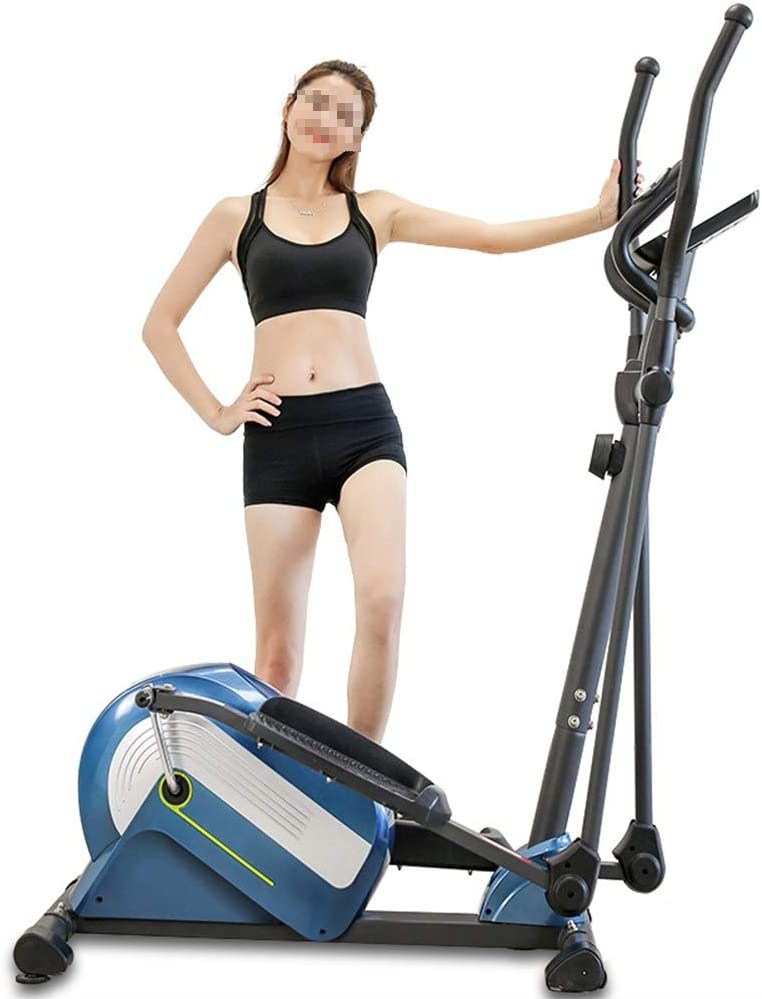 Elliptical Trainer Elliptical Machine Eliptical Exercise Trainer Machine for Home Use Smooth Top Levels Elliptical Trainer for Small Rooms, Apartments, Or Anywhere Workout Machine