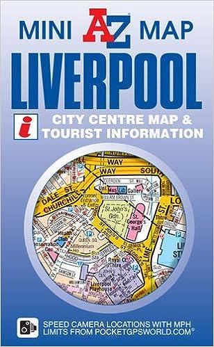Liverpool Mini Map AZ Mini Map Geographers AZ Map Company