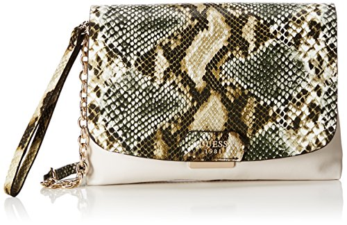 Guess Camylle Crossbody Flap Olive Multicolor