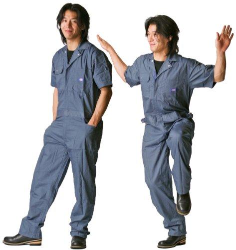 디 키즈 Dickies (야마다 辰) 여름 용 반 팔 ツヅキ 옷 713 해군 블루 L 사이즈 / Dickies Dickies (Tatsu Yamada) Summer Short Sleeve Tzuki Clothing 713 Navy Blue Large Size