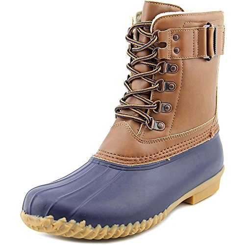 JBU by Jambu Women's Nova Scotia Rain Boot, Navy/Tan, 9.5...