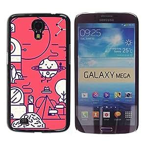 Be Good Phone Accessory // Dura Cáscara cubierta Protectora Caso Carcasa Funda de Protección para Samsung Galaxy Mega 6.3 I9200 SGH-i527 // Happy Biology Scientist Lab