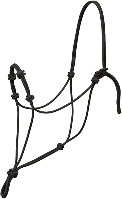 Weaver Silvertip Four Knot Rope Training Halter with Pressure Point Knots