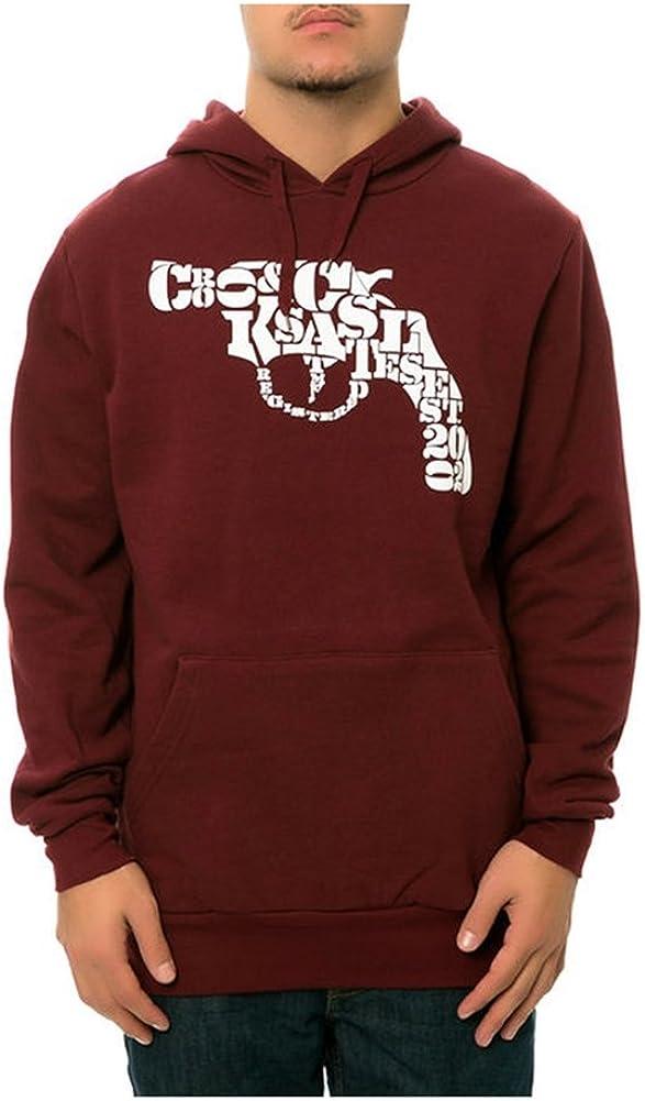 Crooks & Castles Men's Knit Anchored Crew T-Shirt
