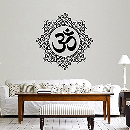 Buy Decals Design 'Designer Om' Wall Sticker (Pvc Vinyl, 60 Cm X