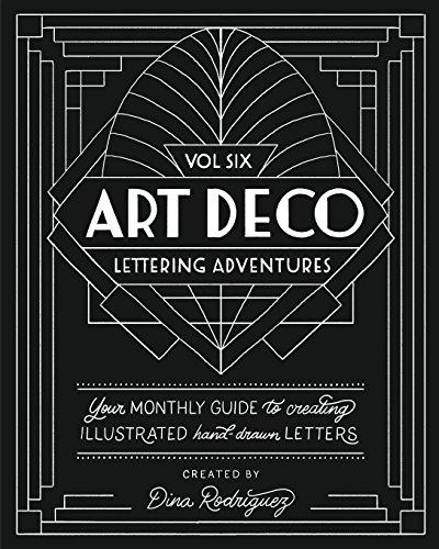 Vol 6 Art Deco Lettering - Art Deco Lettering