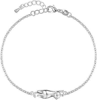 bracelet argent femme avec breloques