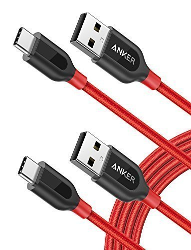 [2-Pack] Anker PowerLine+ USB C to USB A Fast