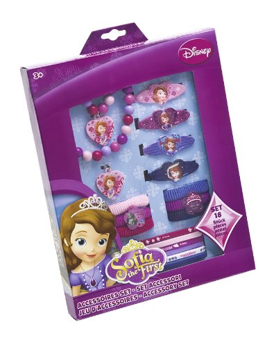[Sofia The First Accessories Box Set] (Sofia The First Dress Up Costume)