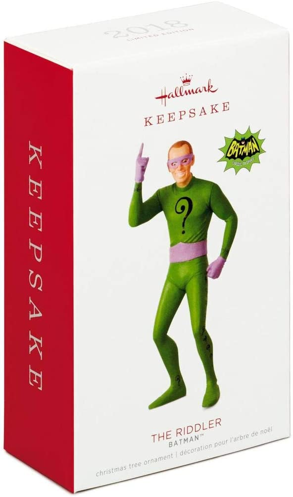 Batman Classic TV Series The Riddler Ornament Limited Edition HKO