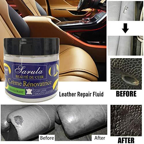 ️ Yu2d ❤️❤️ ️Leather Repair Filler Compound for Leather Restoration Cracks Burns & Holes ()