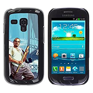Stuss Case / Funda Carcasa protectora - G T A - Trevor Poster - Samsung Galaxy S3 MINI 8190