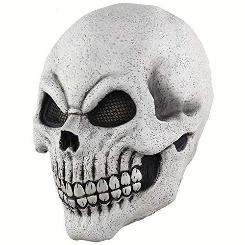 AILIUJUNBING Halloween Mask Full Head Halloween Masks Realistic Latex Party Mask Horror Cosplay Toy Props Horrible Cosplay Mask -