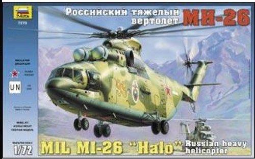 "Mil Mi-26 ""HALO"" Soviet heavy helicopter 1/72 Zvezda 7270"