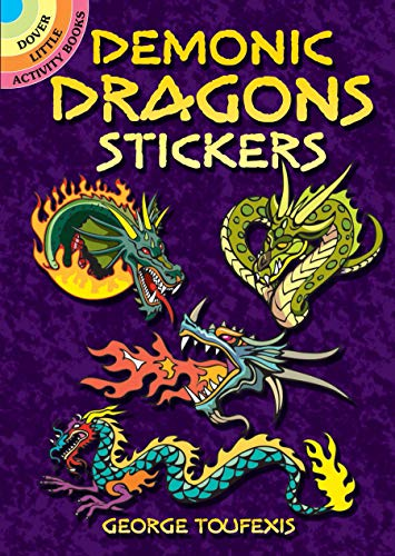 Demonic Dragons Stickers (Dover Stickers) ()