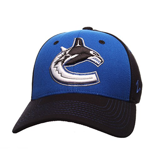 NHL Vancouver Canucks Men's Uppercut Hat, Large, Royal