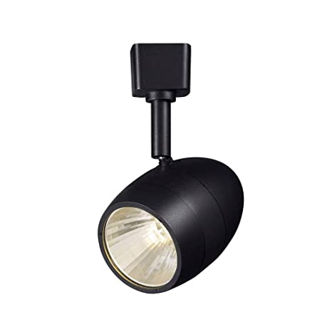 Hampton bay 256 in 1 light black dimmable led track lighting head 1 light black dimmable led track lighting head aloadofball Choice Image