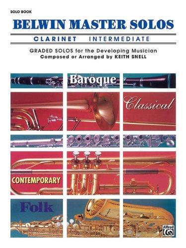 Descargar Libro Alfred Publishing 00-el03397 Belwin Maestro Solos Volume 1 - Clarinete - Music Book Desconocido