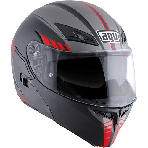 AGV Numo Evo ST Helmet - Portland (LARGE) (MATTE BLACK/SILVER/RED)