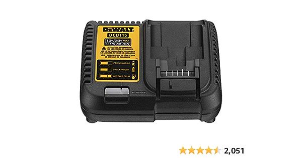 DEWALT 20V MAX Charger (DCB115)